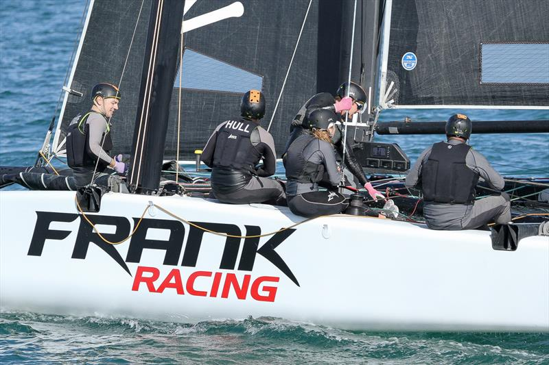 GC32 - Frank Racing - Waitemata Harbour - RNZYS Winter Race, July 2019 - photo © Richard Gladwell, Sail World NZ