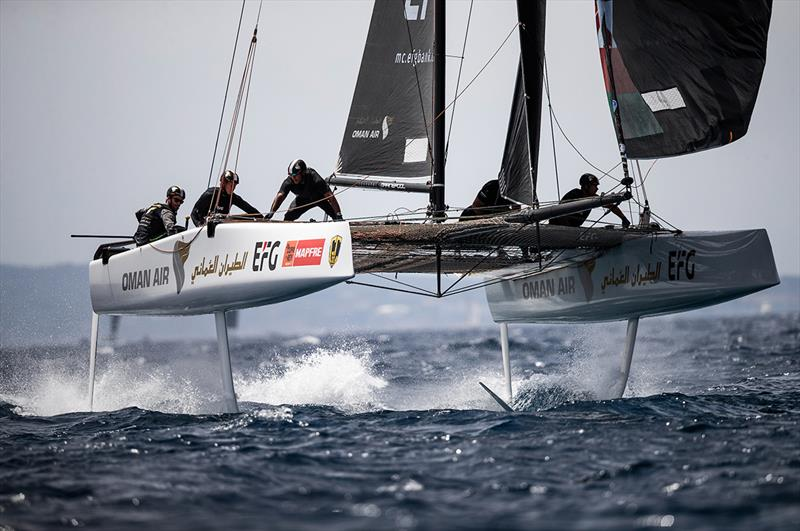 Oman Air, GC 32 class leader - 38 Copa del Rey MAPFRE - photo © Sailing Energy / GC32 Racing Tour