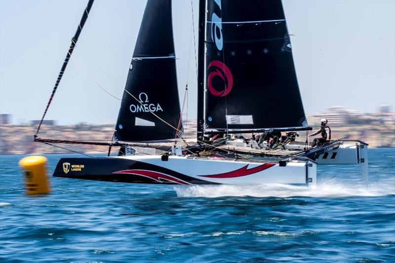 Alinghi returns as defending champion of the last Extreme Sailing Series event held in Muscat - GC32 World Championship - photo © Jesus Renedo / Sailing Energy / GC32 Racing Tour