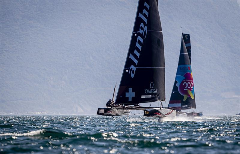 2019 GC32 Riva Cup Day 1 - Early lead for Alinghi