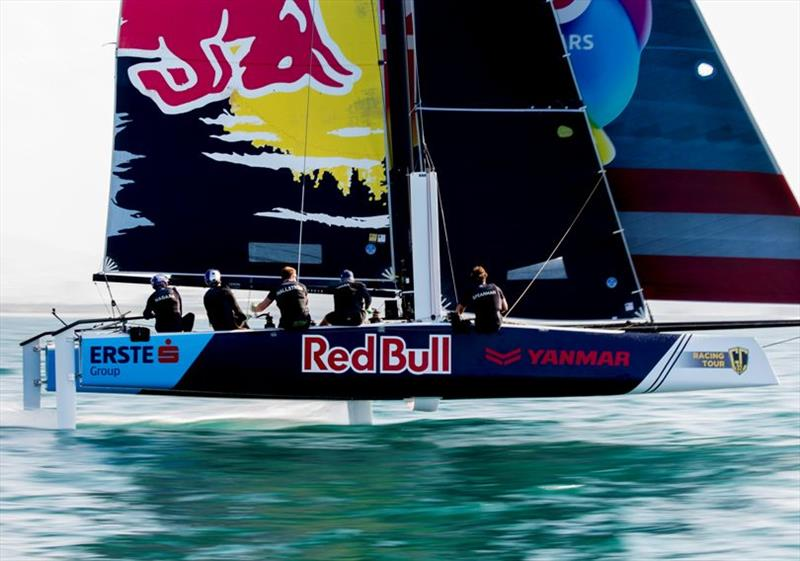 Red Bull Sailing Team will be fighting to defend their third place on the 2019 GC32 Racing Tour podium. - photo © Sailing Energy / GC32 Racing Tour