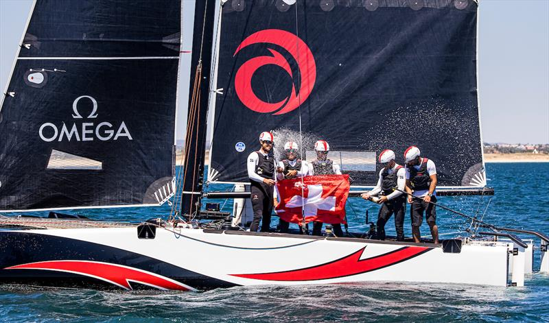 Alinghi victorious - 2021 GC32 Lagos Cup 1 - photo © Sailing Energy / GC32 Racing Tour