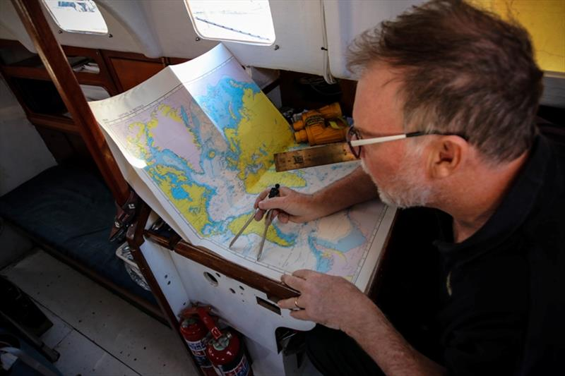 Australian Mark Sinclair is relishing using his traditional navigation skills and the trade wind conditions - photo © Mark Sinclair / GGR / PPL