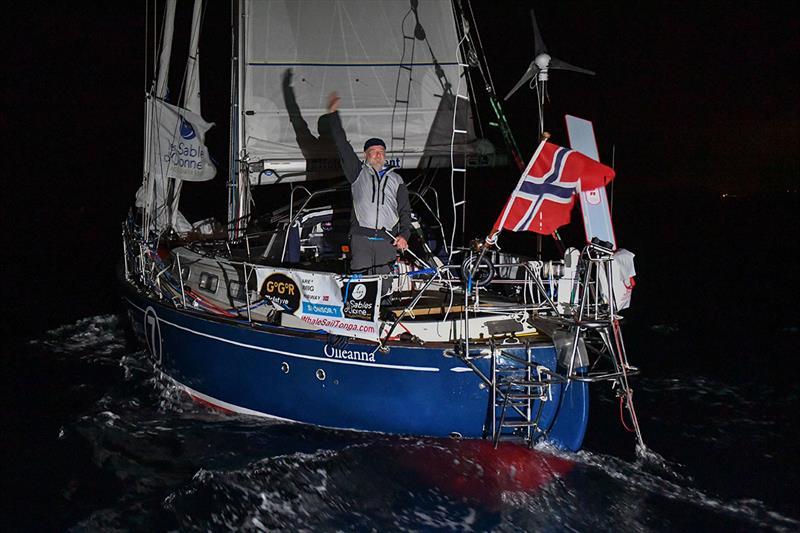 Norwegian skipper Are Wiig demonstrates legendary seamanship in the Golden Globe Race 2018