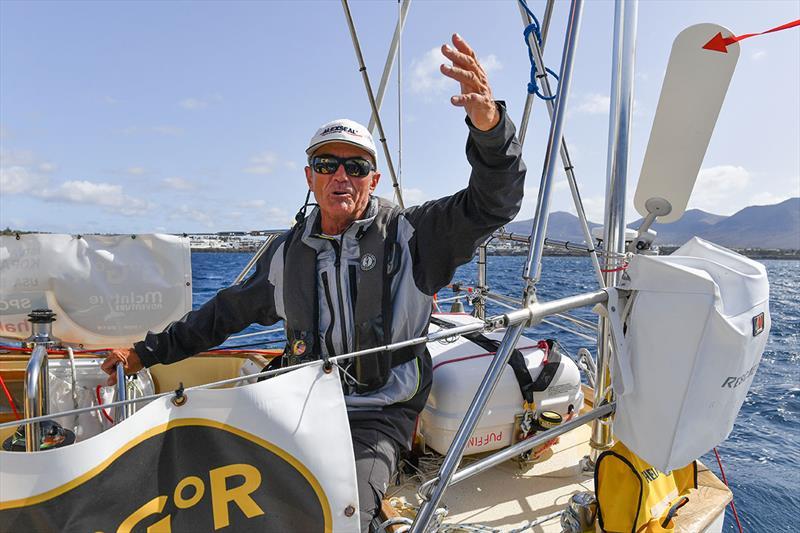 Golden Globe Race - Day 88: American/Hungarian skipper Istvan Kopar - photo © Christophe Favreau / PPL / GGR