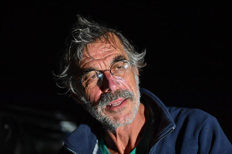 Loïc Lepage - highly experienced with three solo transatlantic crossings under his belt before the Golden Globe Race. - photo © Christophe Favreau / PPL / GGR