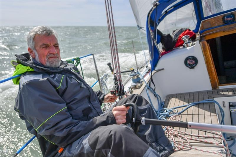 Jean-Luc Van Den Heede has the wind and opened up a 233 mile lead over Mark Slats...but will it last? - Golden Globe Race - photo © Christophe Favreau / Matmut / PPL
