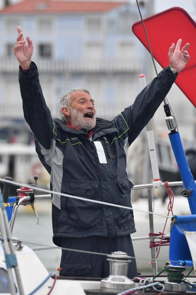 Jean-Luc Van Den Heede wins the 2018 Golden Globe Race - photo © Christophe Favreau / PPL / GGR