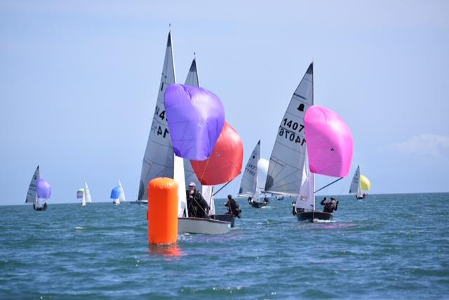 Approaching the leeward mark during the GP14 Ulster Championships at Donaghadee Sailing Club - photo © Tony Patterson