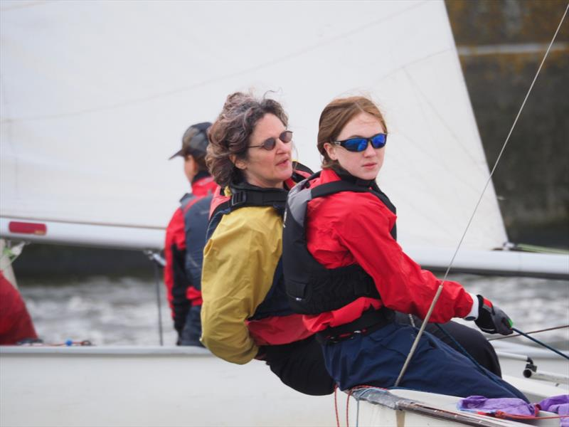 GP14 Venetian Open at Welsh Harp photo copyright Luke Howard taken at Welsh Harp Sailing Club and featuring the GP14 class