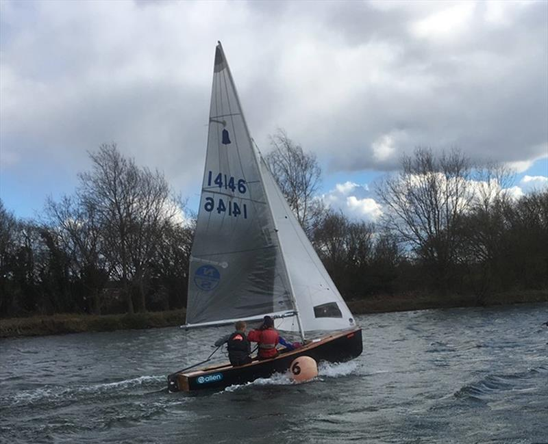 GP14 Race Training and Open Meeting at Papercourt Sailing Club