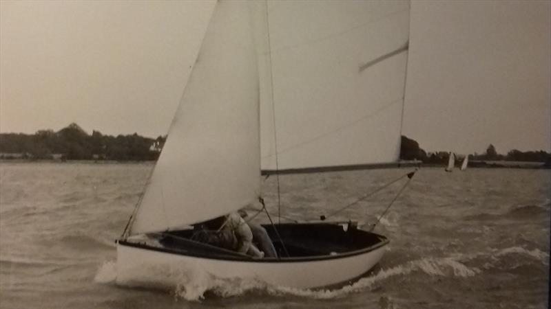 It is easy to think of the Gull as a dinghy that has been of little consequence to the dinghy sailing world, but it would be the forerunner of one of Proctor's most iconic designs, the Wayfarer - photo © Proctor Family