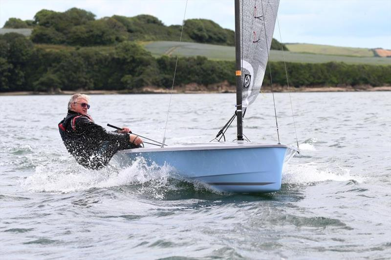 The trick has to be to fit boat to the sailor! Just a week after the Moth picture was taken, the author was sailing in an Hadron H2 that seemed perfectly at ease carrying that level of weight by remaining competitive - photo © Keith Callaghan
