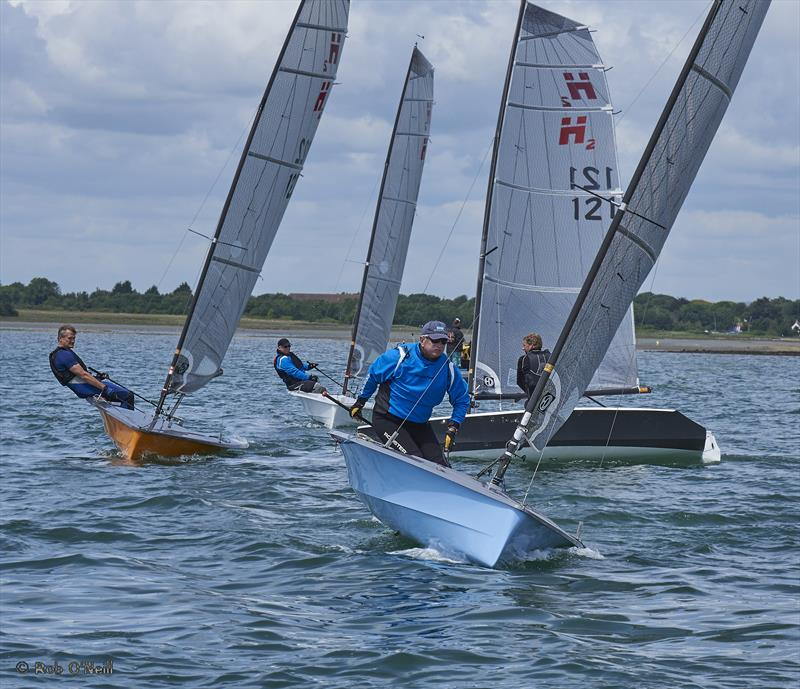 Hadron H2 Open at Itchenor Sailing Club
