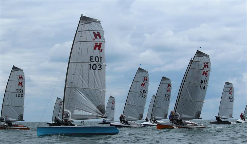 Hadron H2 National Championship at Arun Yacht Club - Day 2