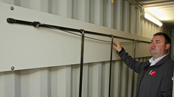 Hall Spars open new composite batten facility in Europe