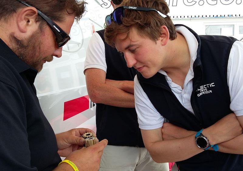 The Harken UK Tech Team attend events such as Cowes Week offering service and support - photo © Harken UK
