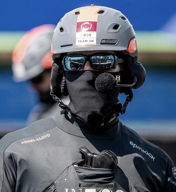 A delivery of Henri-Lloyd Face Coverings to INEOS Team UK as they get back to their training and development photo copyright INEOS Team UK taken at  and featuring the  class