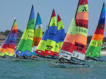 24th Waller Harris 2-Handed Triangle Race at Royal Channel