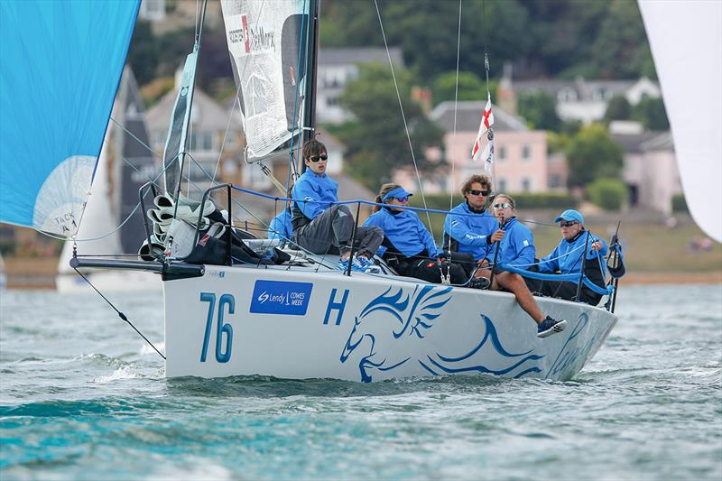 Pegasus Dekmarx - Lendy Cowes Week 2018 - photo © Paul Wyeth / CWL