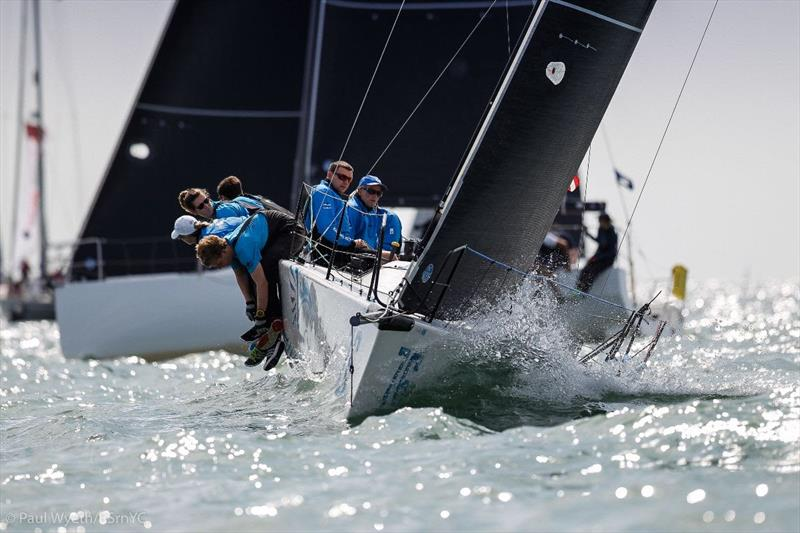 Malcolm Wootton's Farr30 Evo, Pegasus DekMarx - 2019 Champagne Charlie July Regatta - photo © Paul Wyeth