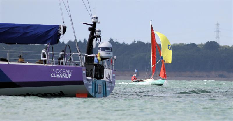 National Squib 50th Anniversary National Championship at Lendy Cowes Week 2018 - photo © Mark Jardine