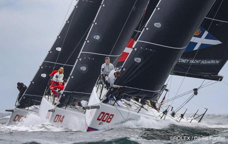 IC37's in action at the NYYC Invitational Cup - photo © Rolex / Daniel Forster