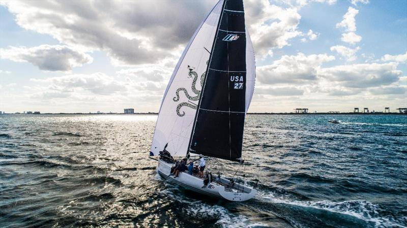 Melges IC37 Winter Series - Practice day in Fort Lauderdale - photo © Melges Performance Sailboats