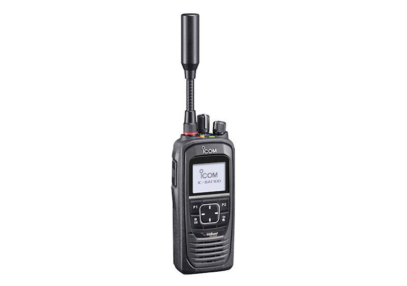 Icom IC-SAT100 PTT Satellite Radio photo copyright ICOM taken at  and featuring the  class