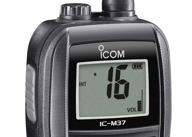 Icom's IC-M37E Buoyant Marine Radio - More Power, More Functionality