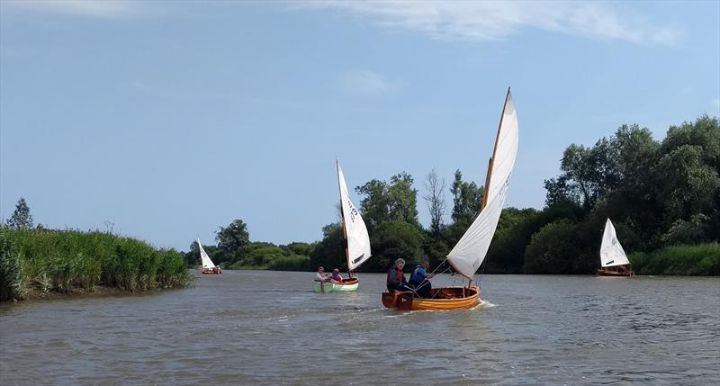 International 12 Footers at Oulton Broad - photo © WOBYC
