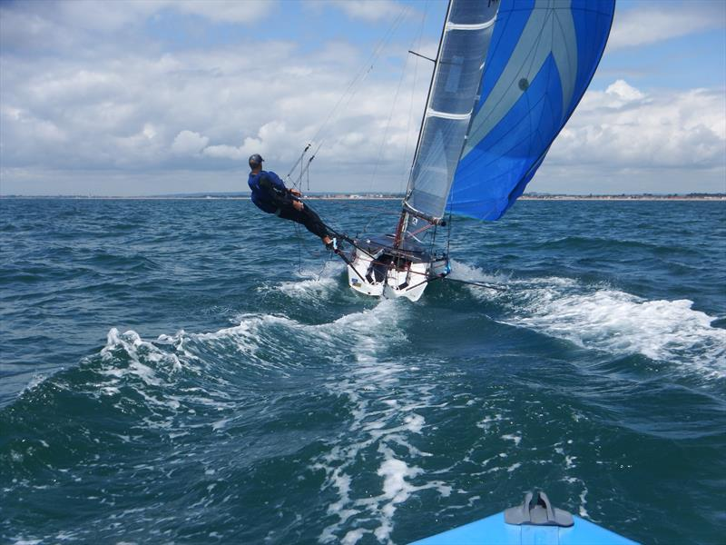 I14 fleet newcomers Jock and Emily - photo © I14GBR
