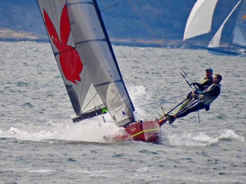 Day 1 - International 14ft Skiff State Championships - photo © Metung Yacht Club
