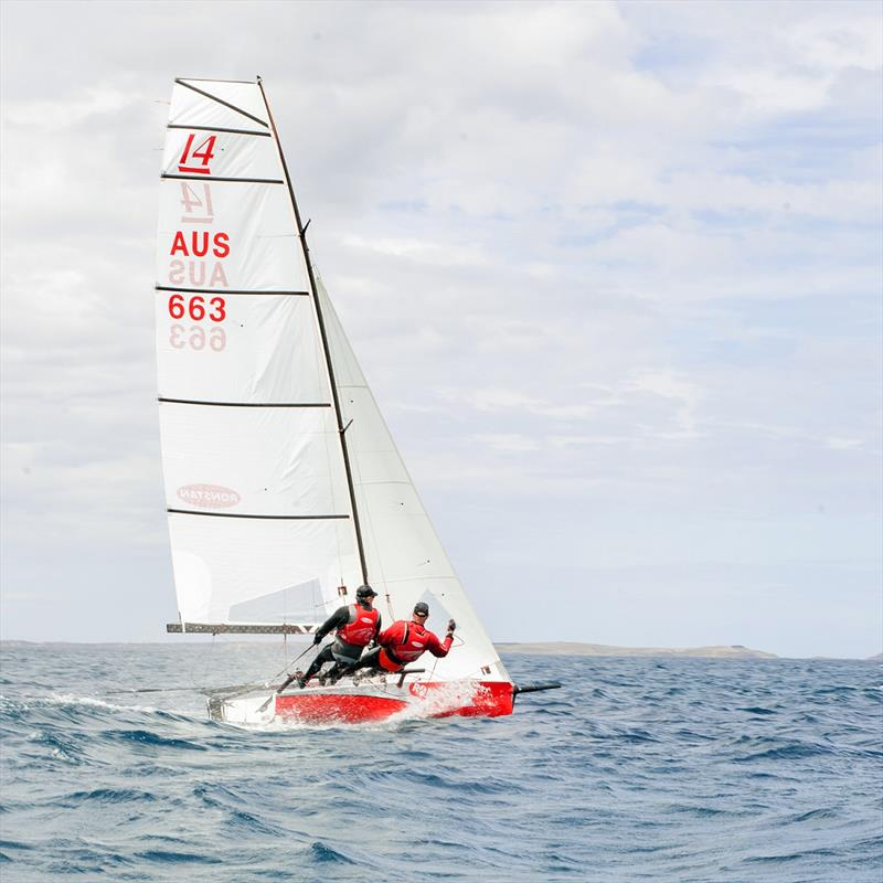 Lindsay Irwin - Ronstan Irwin Sails - International 14 Victorian State Championships - photo © Sonny Witton