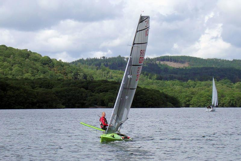 The Crunchy Frog during the Windermere Waterhead Race - photo © SWSC