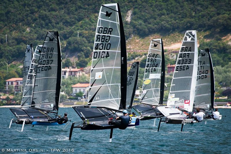 Foiling Week 2016 on Lake Garda - photo © Martina Orsini