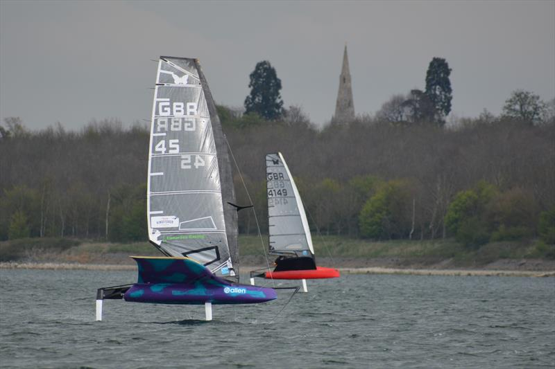 Noble Marine International Moth GP at Grafham - photo © Richard Packham