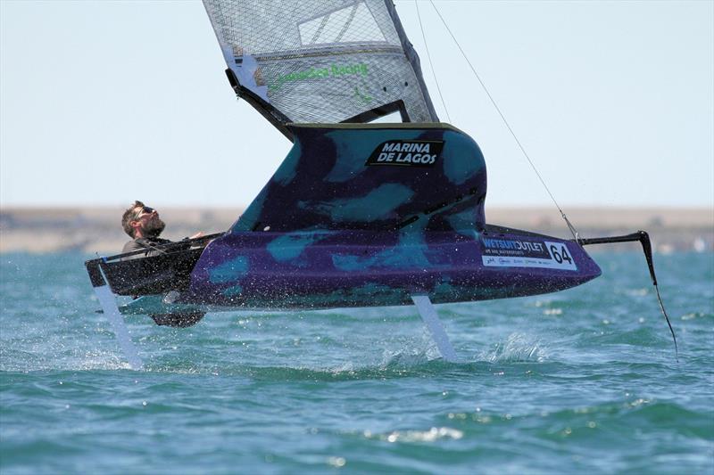 James Sainsbury sailing Valkyrie - photo © Mark Jardine