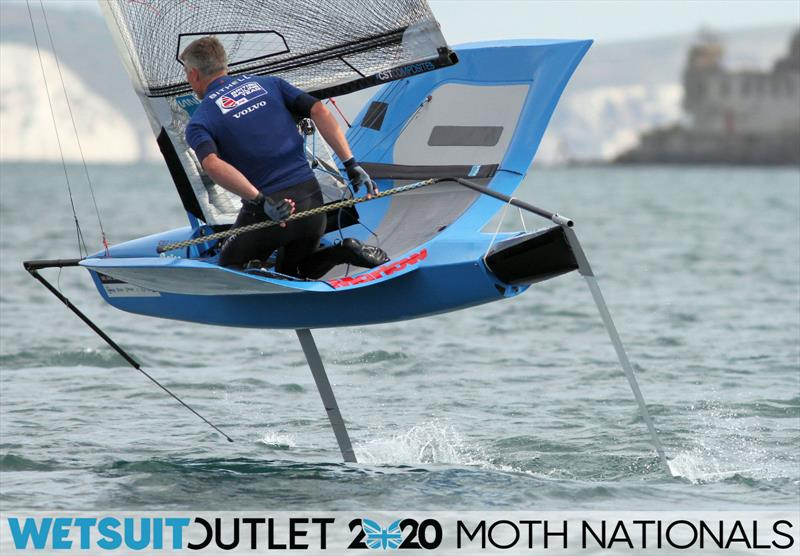 Wetsuit Outlet UK Moth Nationals day 1 - photo © Mark Jardine / IMCA UK
