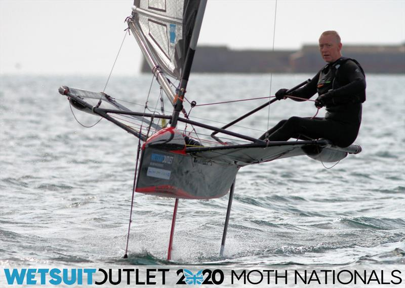 Wetsuit Outlet UK Moth Nationals day 5 photo copyright Mark Jardine / IMCA UK taken at Weymouth & Portland Sailing Academy and featuring the International Moth class