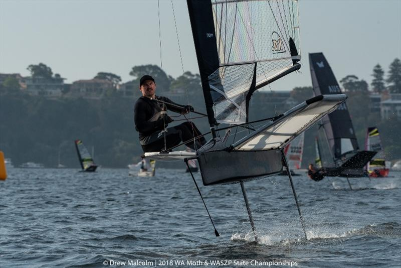 WA Moth sailor Nick Deussen will compete in the world championship - photo © Drew Malcolm