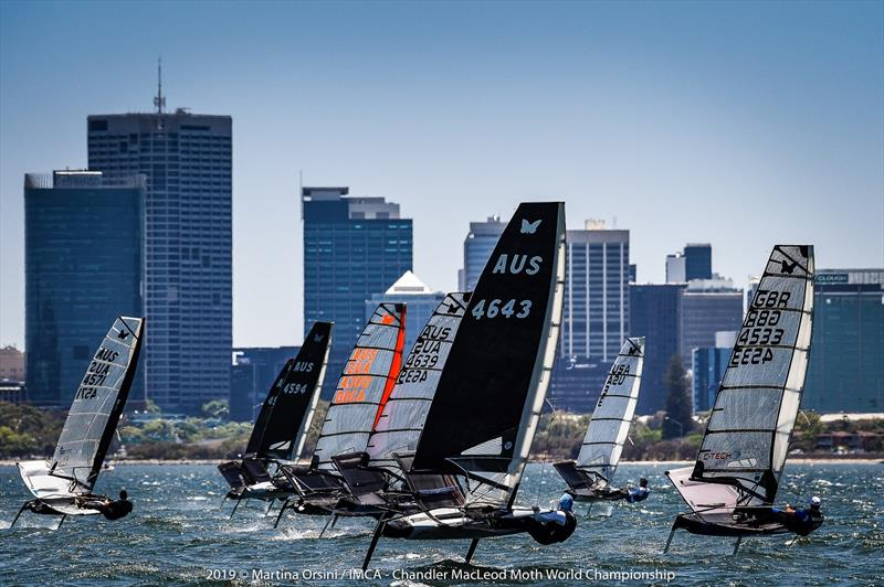 2019 Chandler Macleod Moth Worlds fleet - photo © Martina Orsini