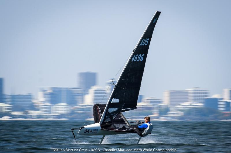 Tom Slingsby sailing on the Swan River in Perth - photo © Martina Orsini