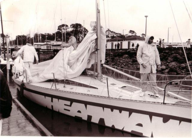 Heatwave placed third in the 1978 One Ton Cup sailed in Flensburg (GER) and sixth the previous year in Auckland - photo © Young family archives