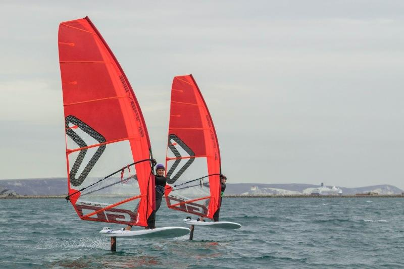 Windfoiling joins British Youth Sailing's Olympic performance pathway