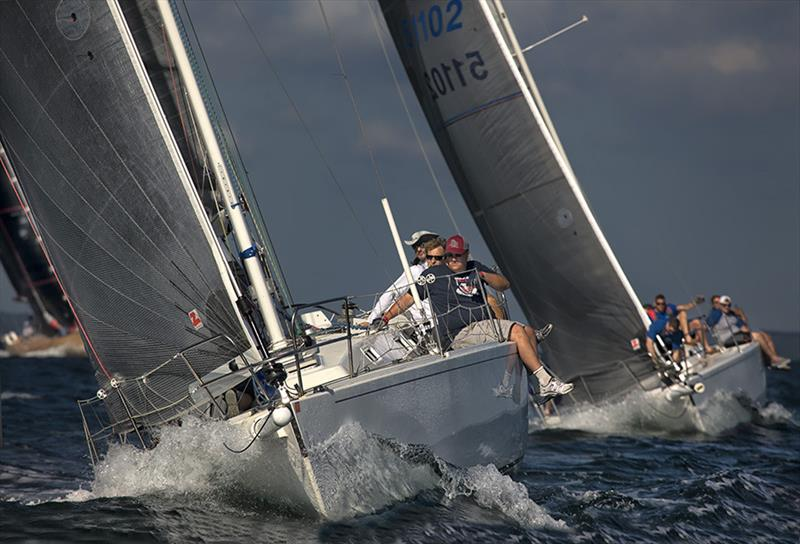 Action during  Edgartown Yacht Club's 'Round-the-Island Race - photo © MacDougalls' Boatyard/Michael Berwind