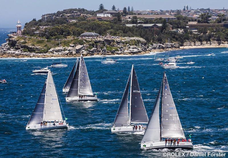 Rolex Sydney Hobart Yacht Race start - photo © Rolex / Daniel Forster