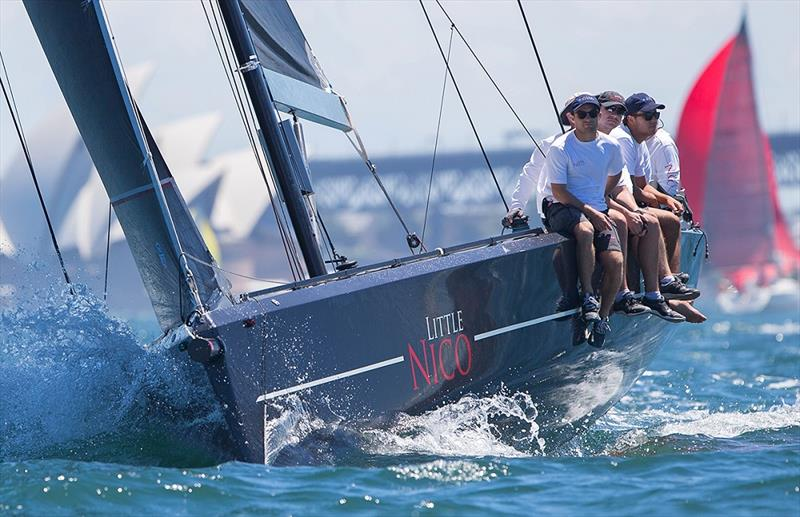Little Nico runner-up in the Super 12s at the 40th Sydney Short Ocean Racing Championship - photo © Crosbie Lorimer