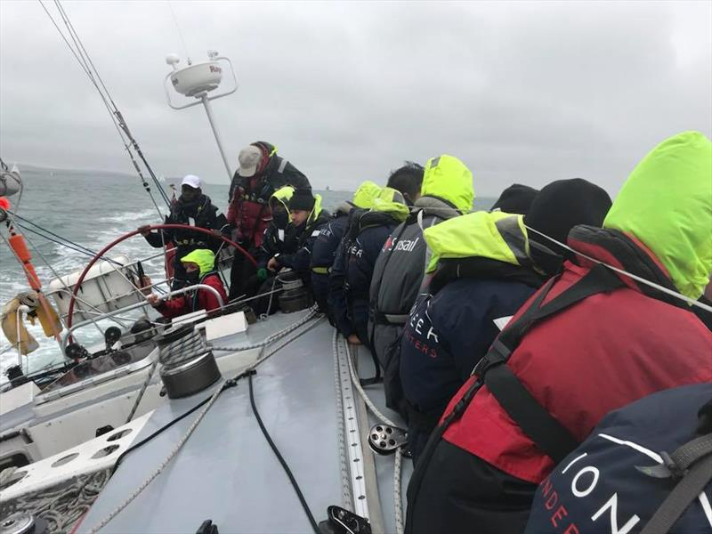 Scaramouche during the ASTO Small Ships Race - photo © Scaramouche