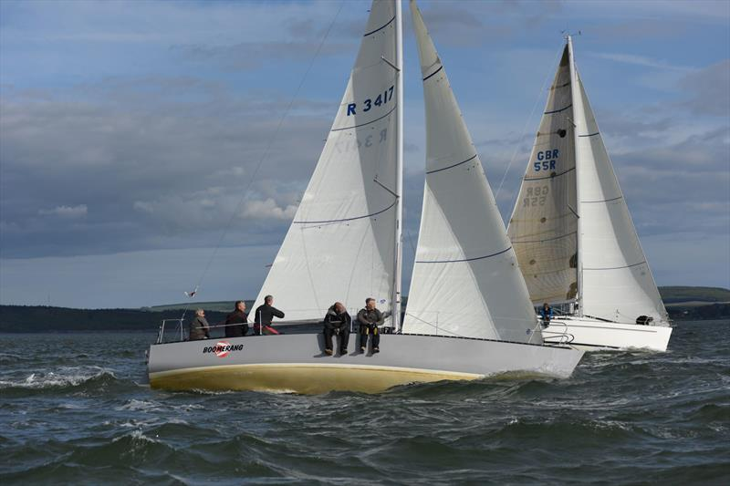Boomerang during Spencers Estate Agents Royal Lymington Yacht Club Thursday Night Early Series day 7 - photo © Roger Wilson